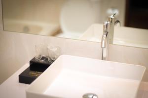 A bathroom at Hotel Salam Asri