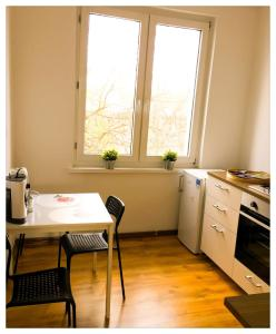 Kuchnia lub aneks kuchenny w obiekcie Apartament Katarzynka Stare Miasto