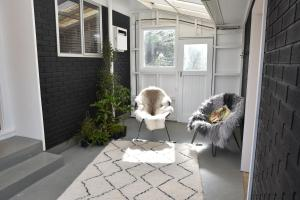 Pet or pets staying with guests at Waitomo Boutique Lodge