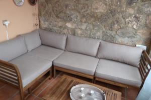 A seating area at Casa Rural La Guapeta
