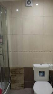 A bathroom at LLKC Hostel