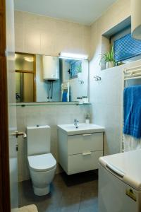 A bathroom at APP - 1