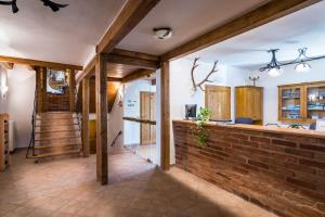Vstupní hala nebo recepce v ubytování Holzberg