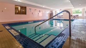 The swimming pool at or near Best Western Plus Bowmanville