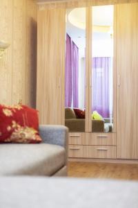 A seating area at Великолепная квартира в Одинцово