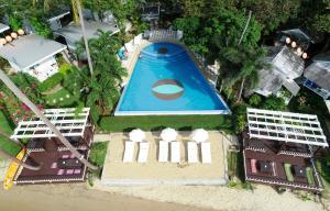 Blick auf White House Bailan Resort aus der Vogelperspektive