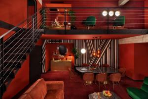 Lobby/Rezeption in der Unterkunft Stories Boutique Hotel