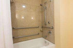 A bathroom at Holiday Inn Aurora North - Naperville, an IHG Hotel
