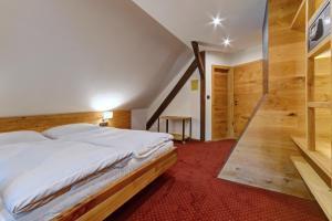 Postel nebo postele na pokoji v ubytování Villa Conti