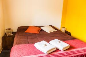 Una cama o camas en una habitación de Inlandsis Aparts