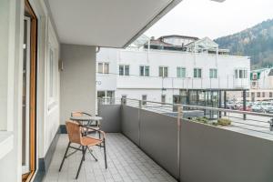 Balkón nebo terasa v ubytování Appartementhaus Steirergasse by Schladming-Appartements