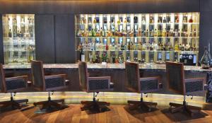 O lounge ou bar de Alvear Art Hotel