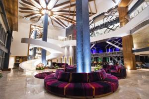 The lobby or reception area at Hard Rock Hotel Guadalajara
