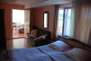 Część wypoczynkowa w obiekcie Dodo Japaridze Guesthouse