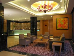 The lobby or reception area at Taj Chandigarh