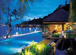 The swimming pool at or near Pangkor Laut Resort