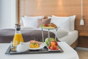 Breakfast options available to guests at Pullman Dresden Newa