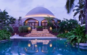 The swimming pool at or close to Taj Bekal Resort & Spa, Kerala