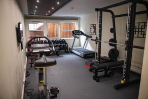 Centrum fitness w obiekcie Grande Fjord Hotel