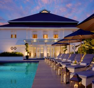 The swimming pool at or near The Majestic Hotel Kuala Lumpur, Autograph Collection