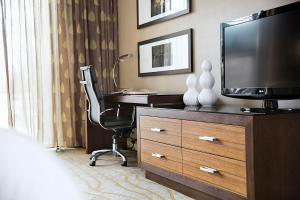 A television and/or entertainment centre at The Woodlands Resort
