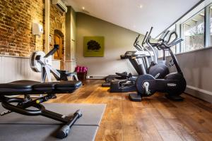 The fitness centre and/or fitness facilities at The Greenway Hotel & Spa