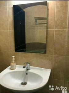 Ванная комната в Хостел Русь