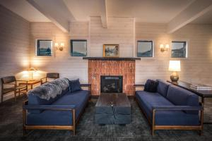 A seating area at The Explorers Society Hotel