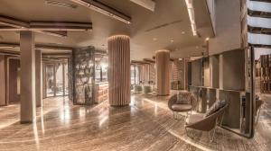 The lobby or reception area at Doubletree By Hilton Iquitos