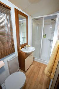 Ein Badezimmer in der Unterkunft Dein Lieblingsplatz