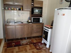 A cozinha ou cozinha compacta de Casa Rosada