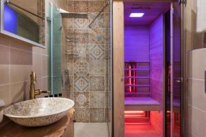 A bathroom at Palazzo di Irene