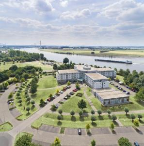 A bird's-eye view of Welcome Hotel Wesel
