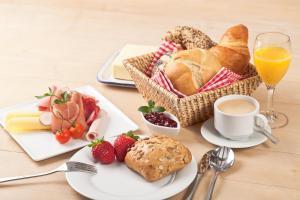 Frühstücksoptionen für Gäste der Unterkunft Dein Lieblingsplatz