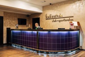 Лобби или стойка регистрации в Загородный отель forRestMix club
