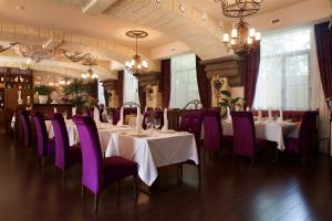 A restaurant or other place to eat at Alean Family Resort & SPA Doville 5* Ultra All Inclusive