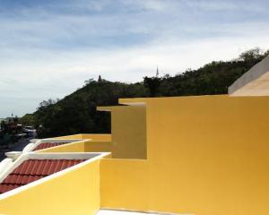 Ein Balkon oder eine Terrasse in der Unterkunft Swiss Palazzo