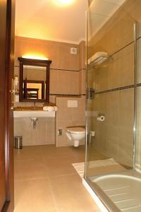 Ein Badezimmer in der Unterkunft Hotel U Krále