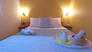 Un ou plusieurs lits dans un hébergement de l'établissement VVF Villages « Les Monts du Jura » Lélex