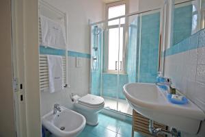 A bathroom at Seawall Holiday Home