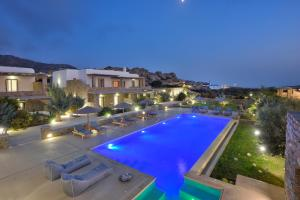 The swimming pool at or near AC Village Christoulis