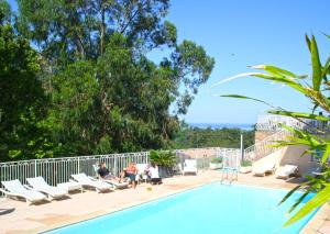 The swimming pool at or near Capo D'orto