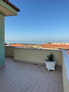 A balcony or terrace at Maison Lidia