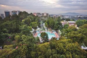 A bird's-eye view of Hilton Addis Ababa