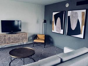A television and/or entertainment center at Hilton Addis Ababa