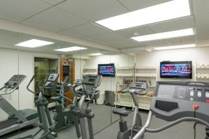 The fitness center and/or fitness facilities at The Boxer