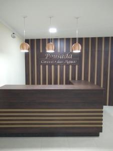 The lobby or reception area at Pousada Circuito das Águas
