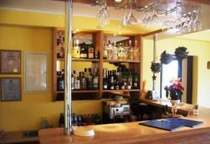 The lounge or bar area at Vētrasputns