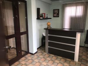 Лобби или стойка регистрации в Отель в Домодедово
