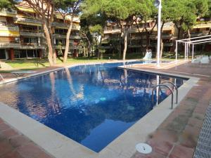 The swimming pool at or near LUXURY GAVA BEACHFRONT APARTMENT BARCELONA